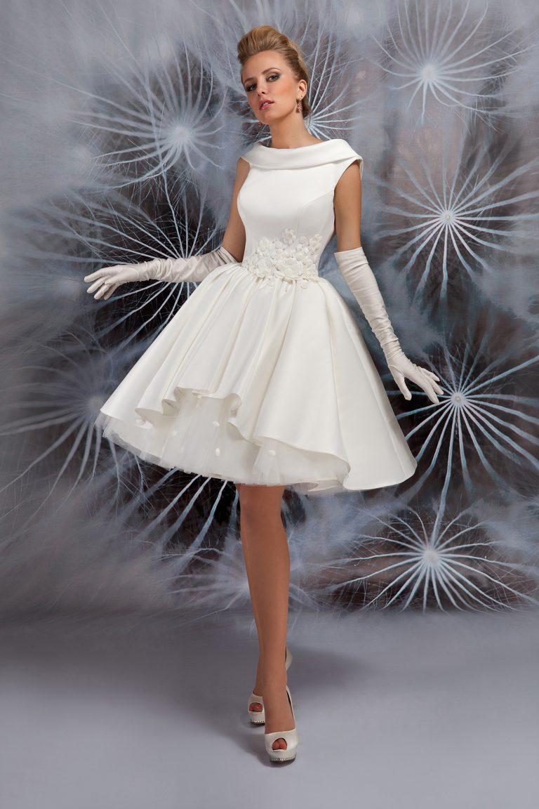 Robe de mariée courte - Jive - Oksana Mukha