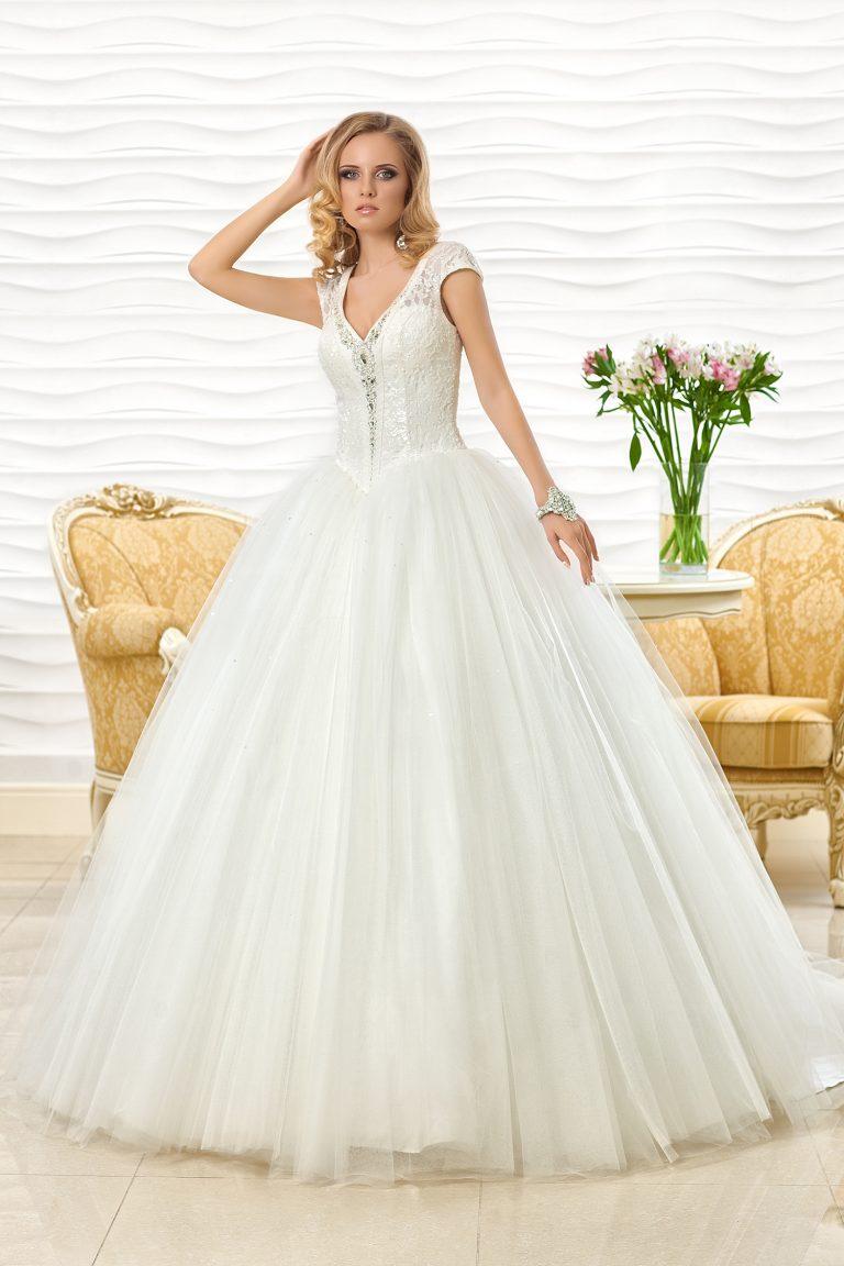 Robe de mariée longue traine