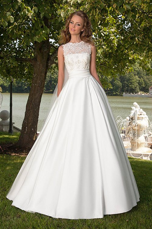 Robe Mariée Elegante
