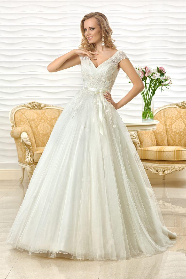 Robe de mariage avec dentelle