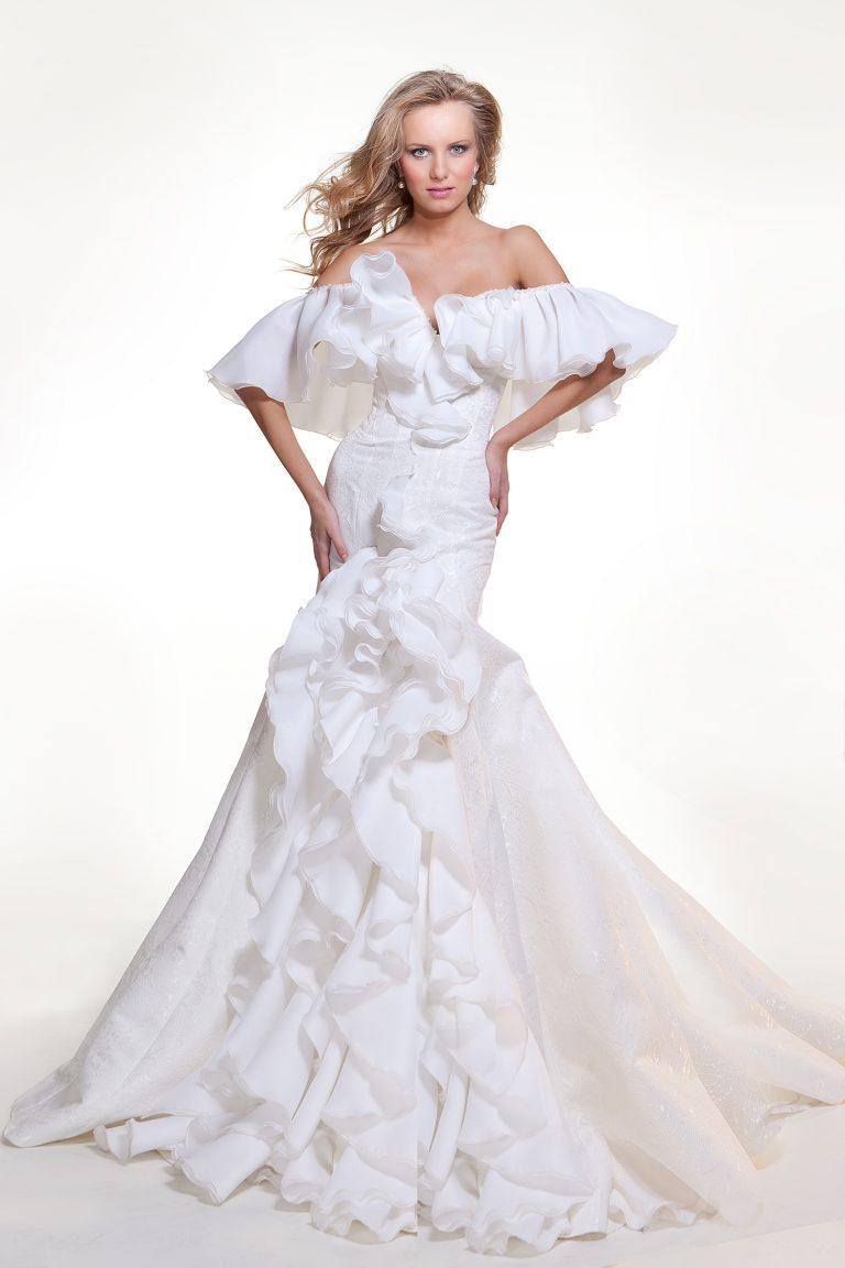 Robe de mariée à l'espagnole