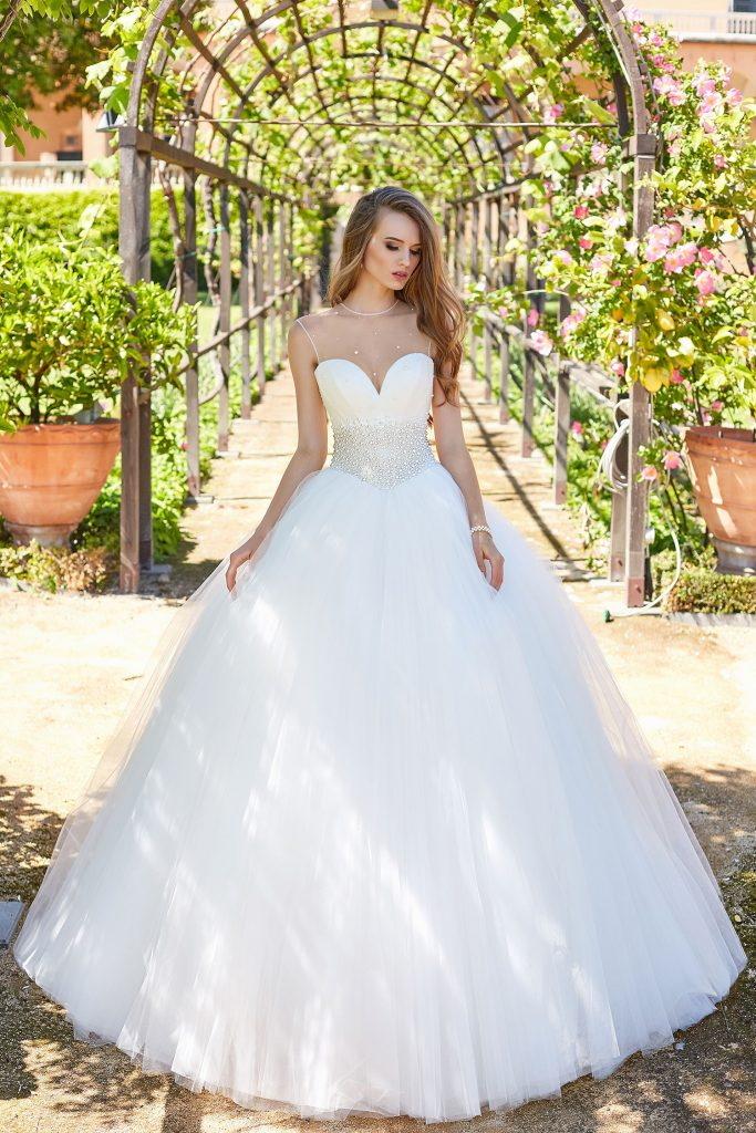 robe de mariée princesse bustier coeur