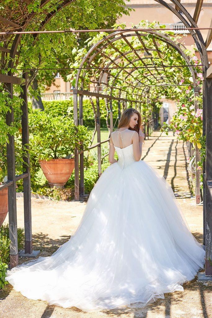 robe de mariée princesse coupe cendrillon