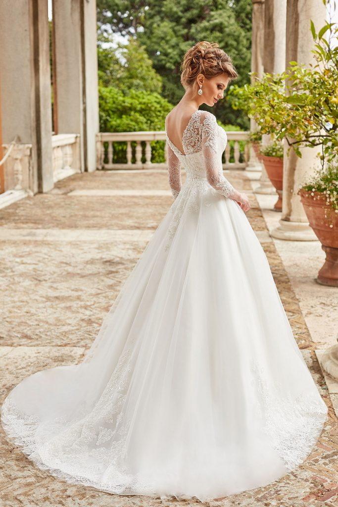 robe de mariee princesse en dentelle
