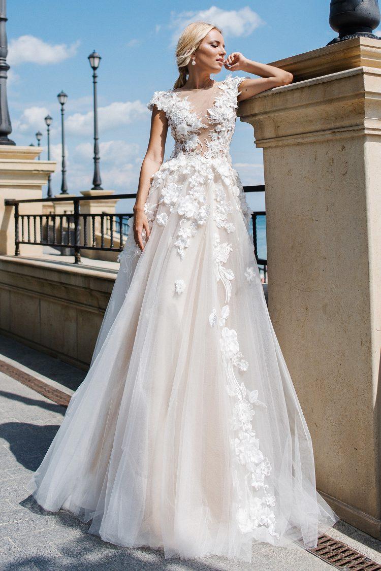 a0a47caec75501 La robe de mariée idéale pour une morphologie en 8