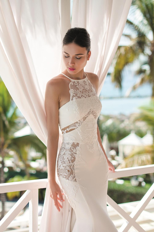robe de mariee ajouree sexy
