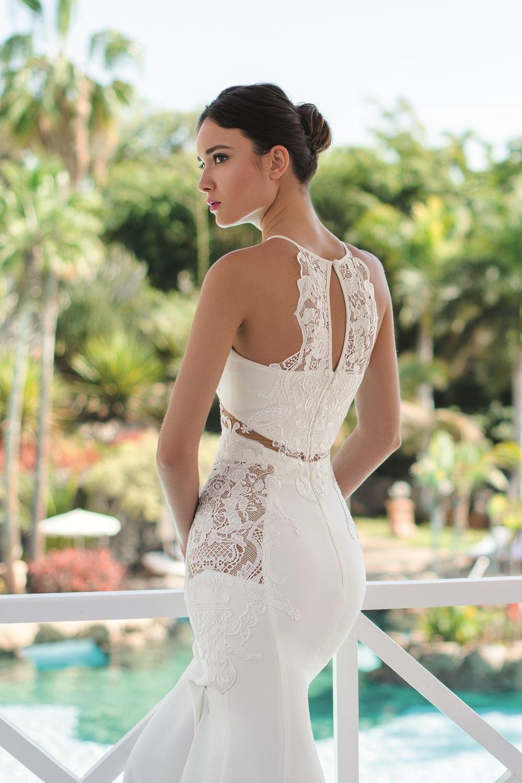robe de mariee avec transparence