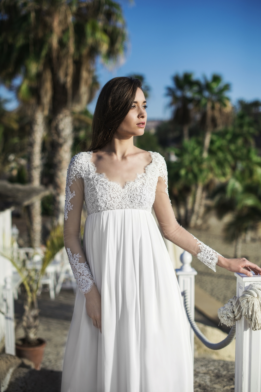 robe de mariee boheme pour femme enceinte