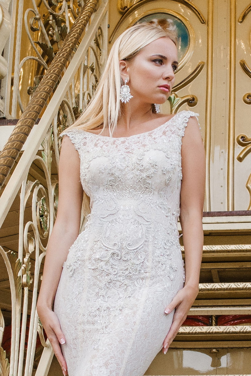 robe de mariee dentelle chantilly