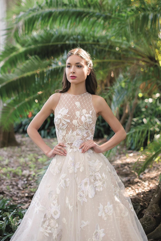 robe de mariee effet croisillon
