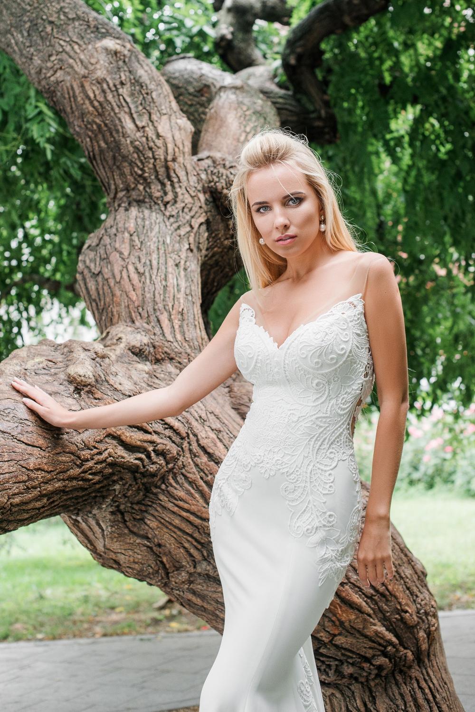 robe de mariee moulante