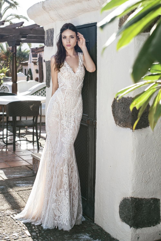 robe de mariee pres du corps