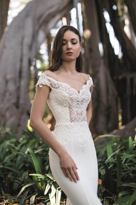robe de mariee sexy coupe fourreau