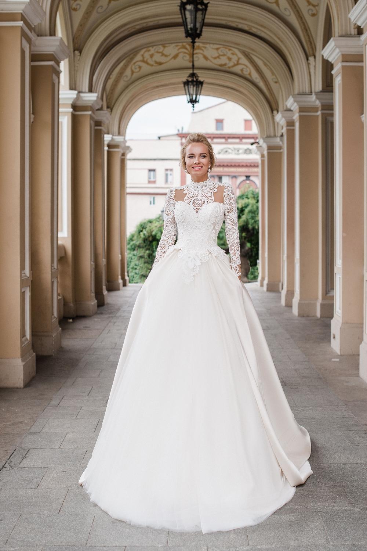 robe de mariee traine amovible