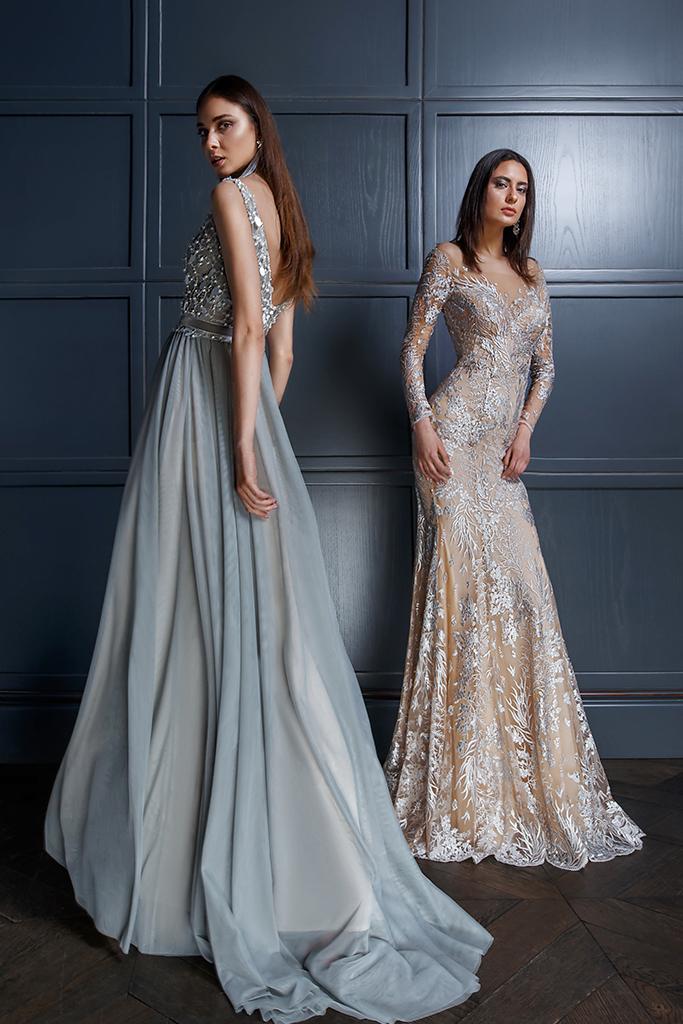 Robe de soirée bijoux