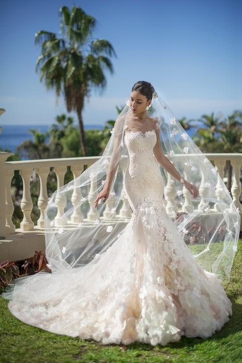 Robe de mariée sirène de luxe