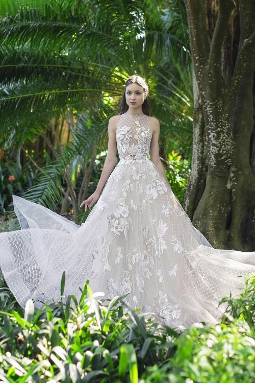 Robe de mariée résille