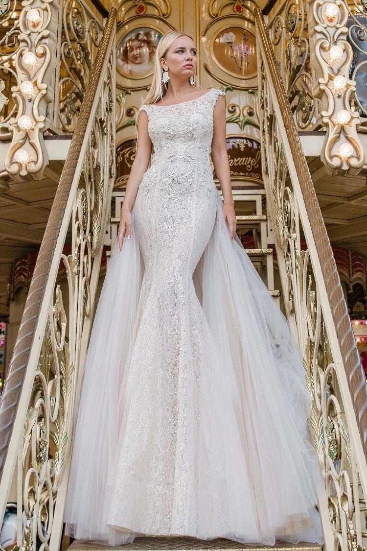 Robe de mariée de luxe 2 en 1