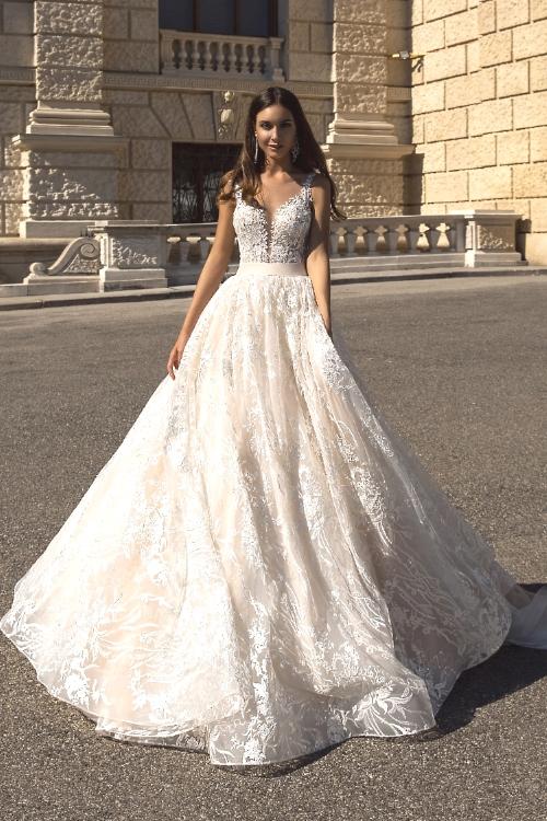 Robe de mariée sans manches