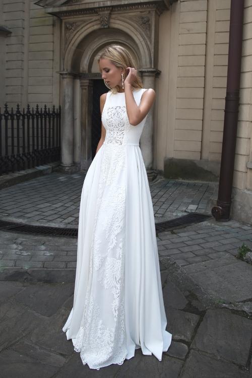 Robe de mariée parisienne