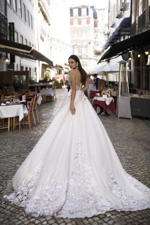 Robe de mariée princesse brodée