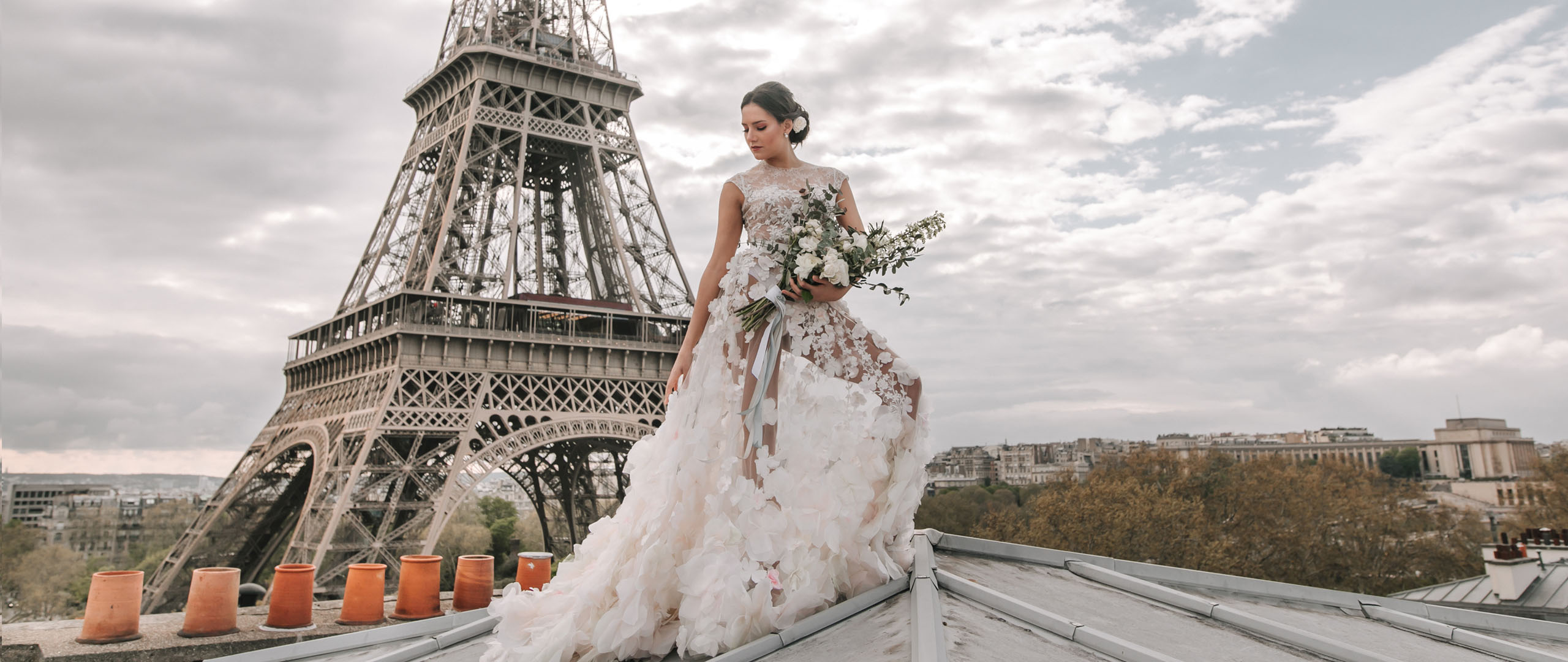 Robe de mariée Paris - Oksana Mukha