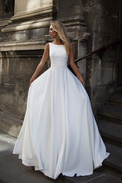 Robe de mariée simple & chic