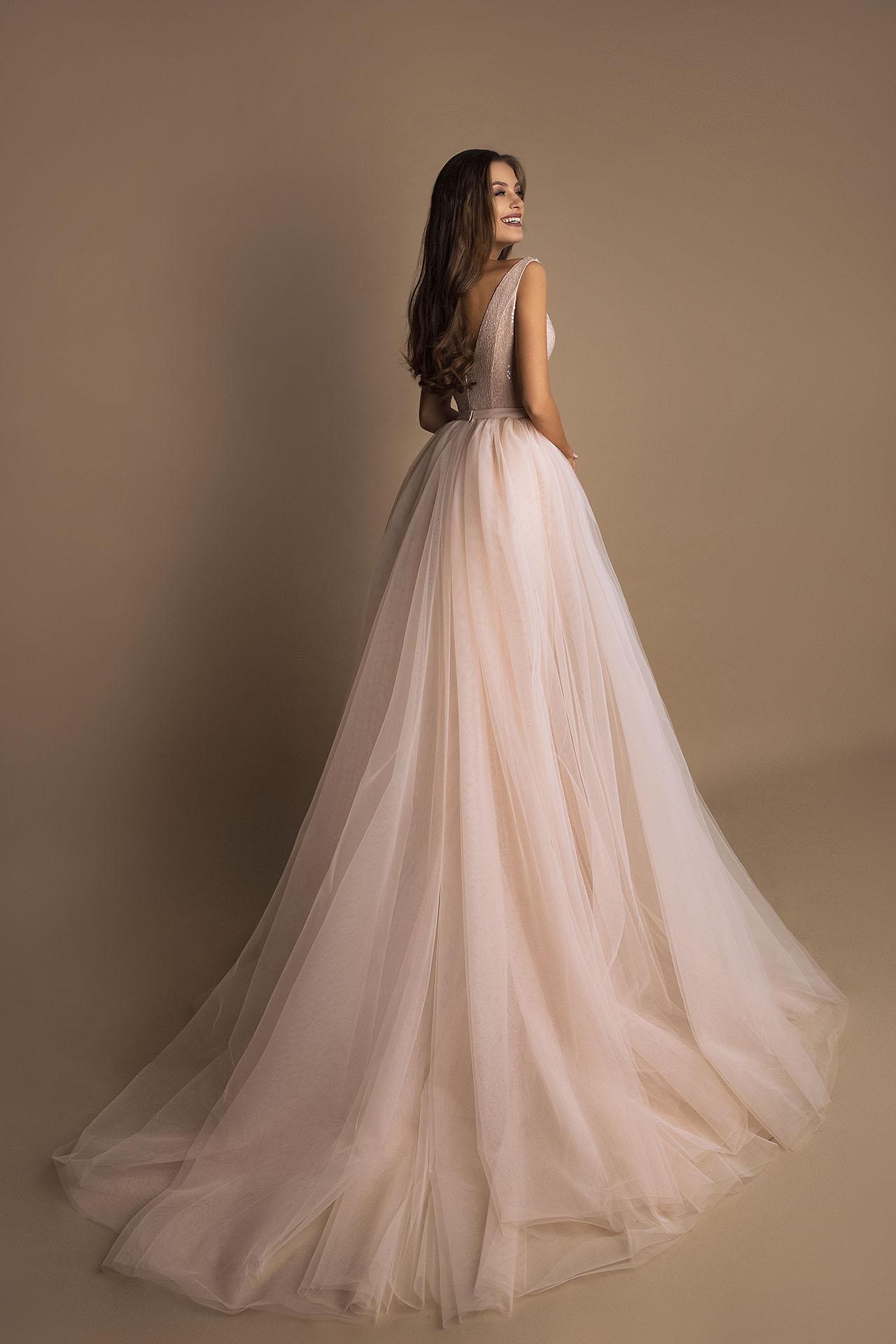 robe de soiree traine amovible