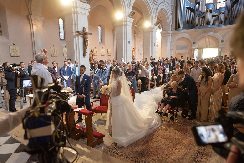 mariage eglise manon tanti @libre_comme_l_art Wedding M&J