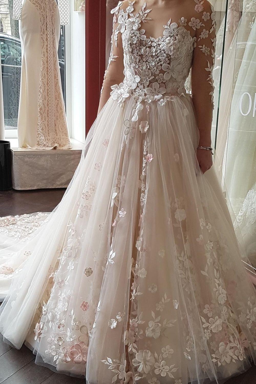 robe de mariee avec manches amovibles