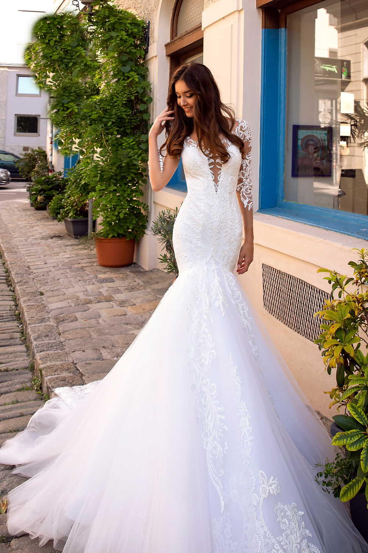 robe de mariee manche longue 1