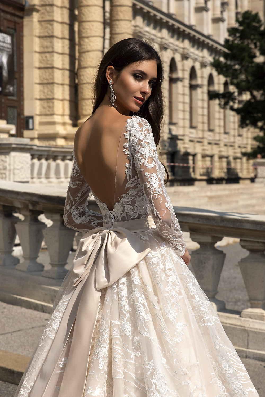 robe de mariee manche longue 2