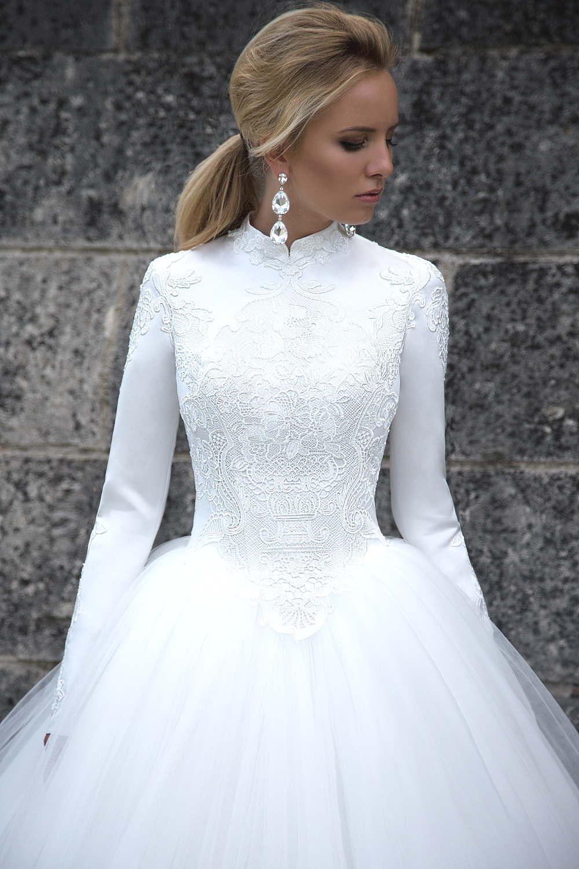 robe de mariee manche longue 3