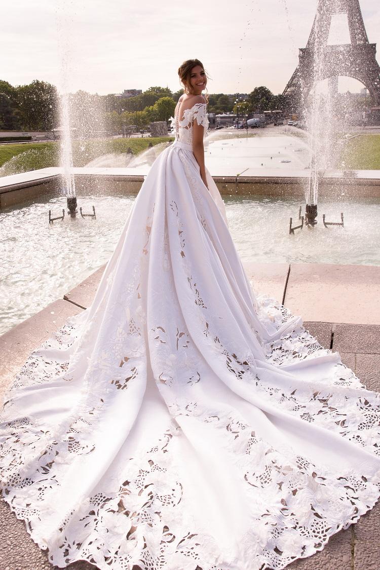 robe de mariee dentelle guipure