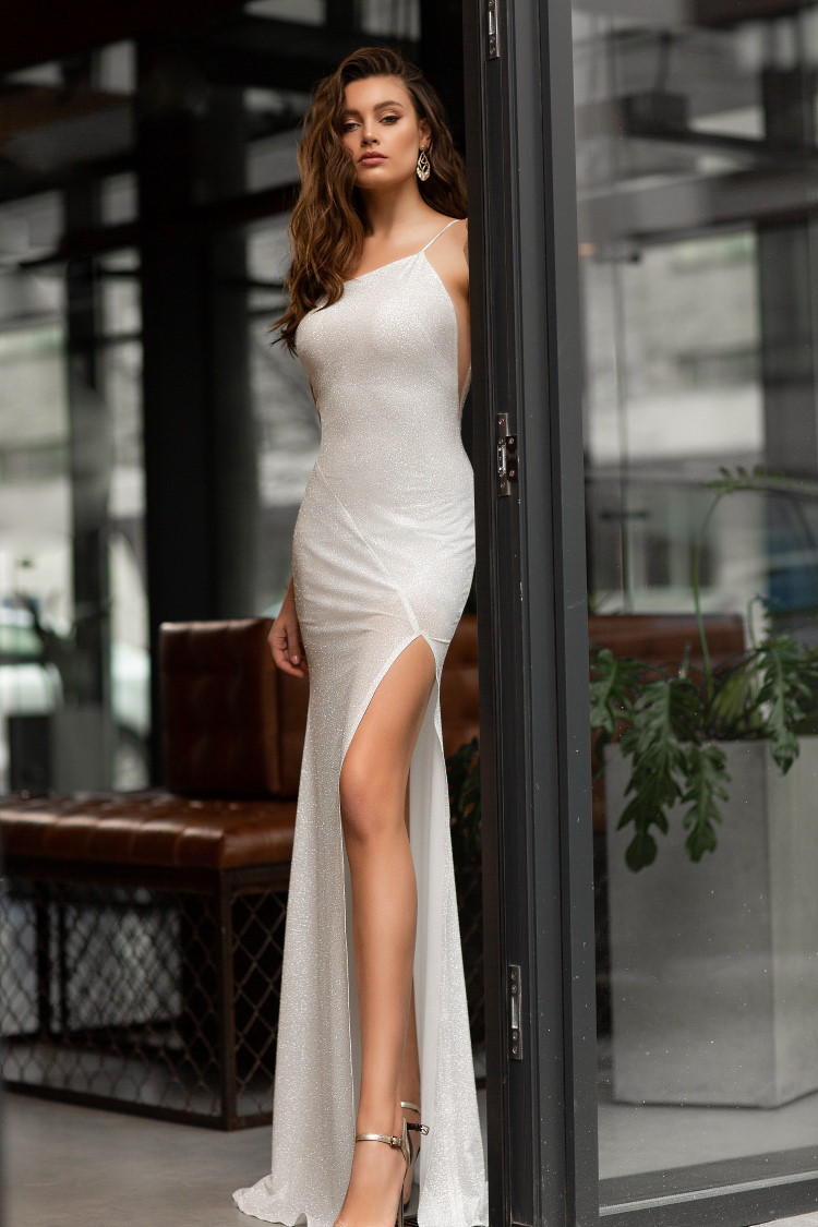 robe de mariee jupe fendue
