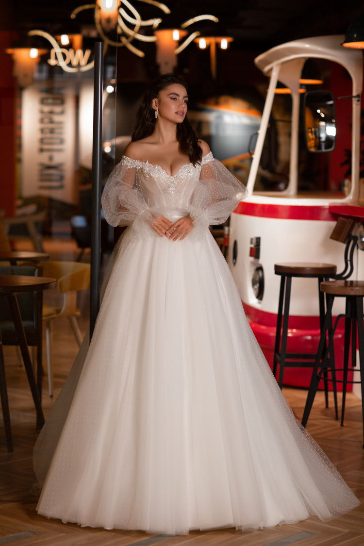 robe de mariee manche bouffante