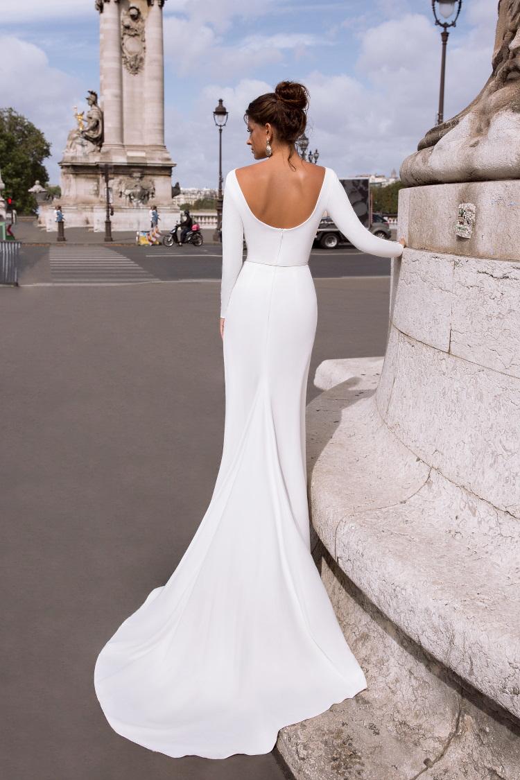 robe de mariee toute droite