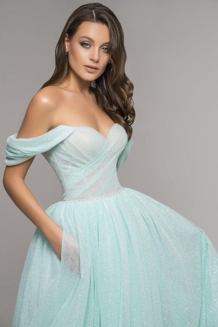 robe amande - soiree gala mariage ceremonie