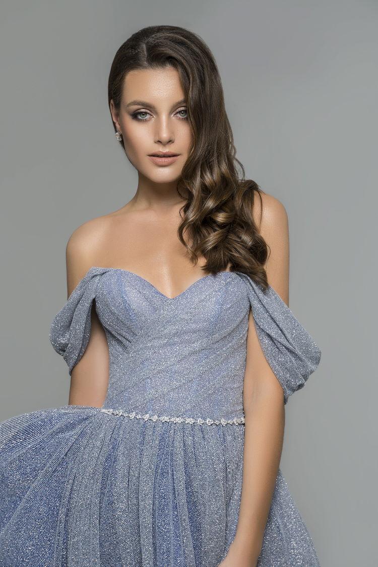 robe bustier paillete - mariage ceremonie gala soiree