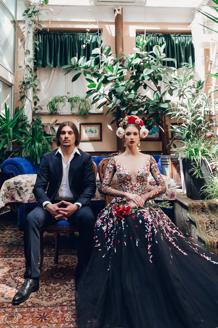 robe de gala spectaculaire