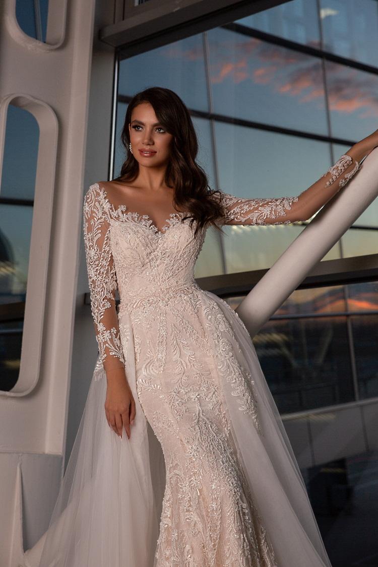 robe de mariee 2 en 1