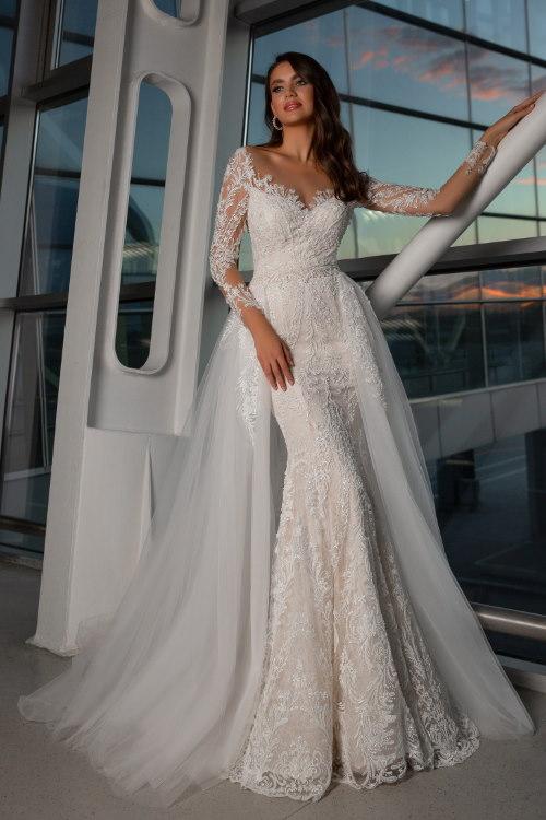 Robe de mariée 2 en 1