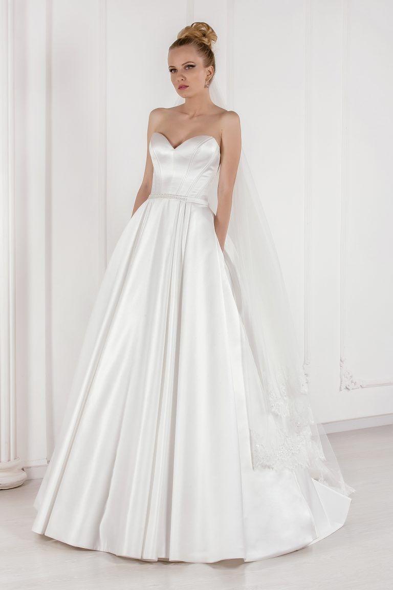 Robe de mariée bustier cœur