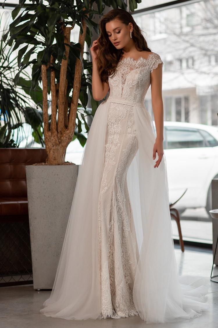 robe de mariee en macrame