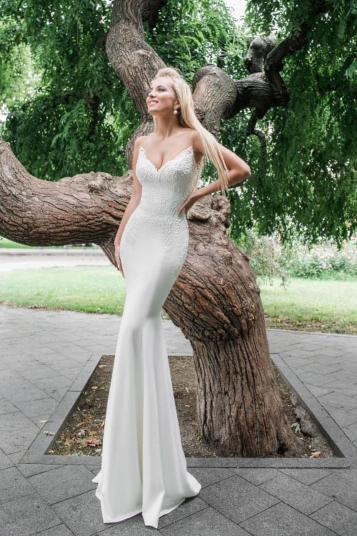 Robe de mariée sexy-chic