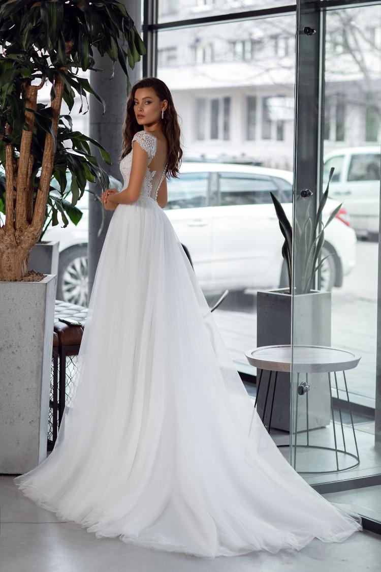 robe de mariee macrame moderne