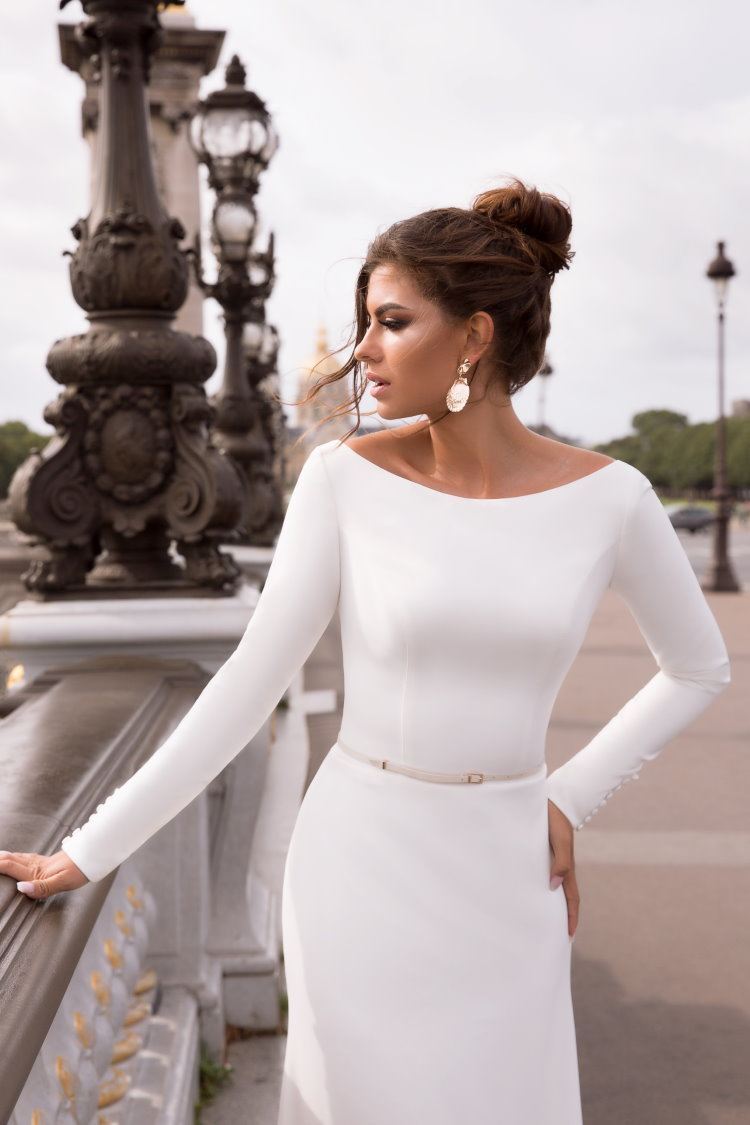robe de mariee moderne