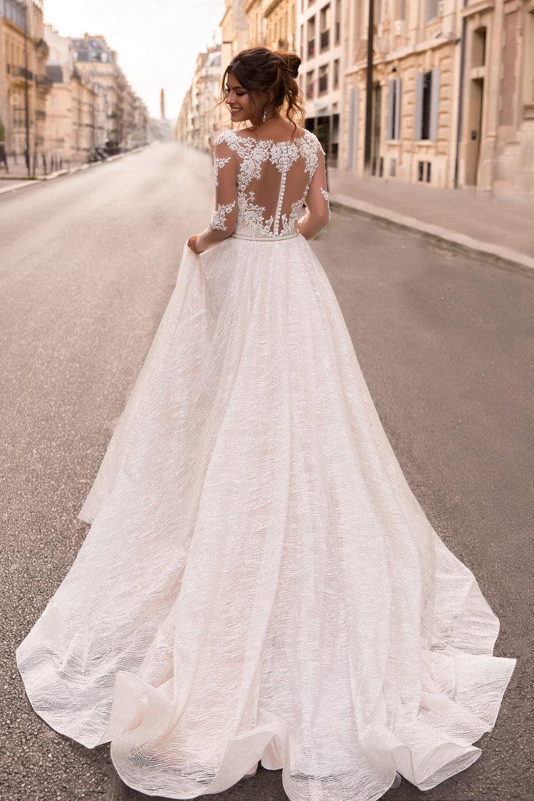 robe de mariee paillette