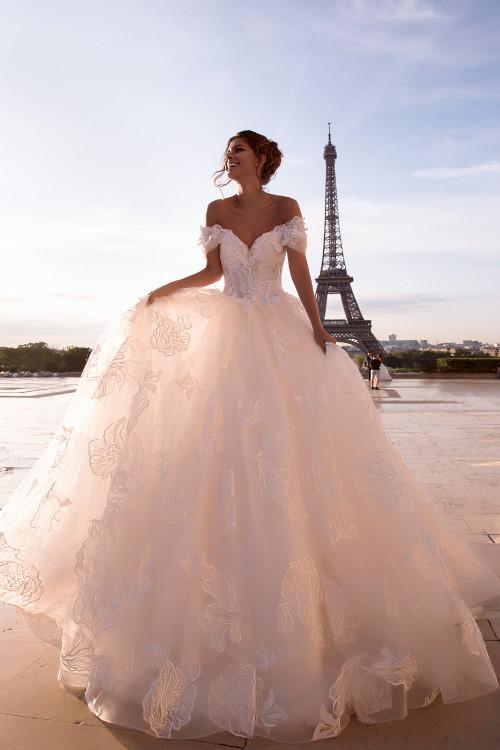 Robe de mariée spectaculaire