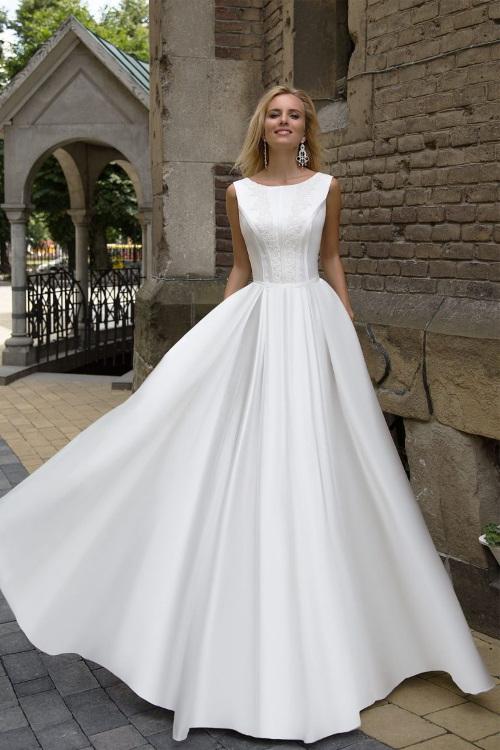 Robe de mariée bustier dentelle